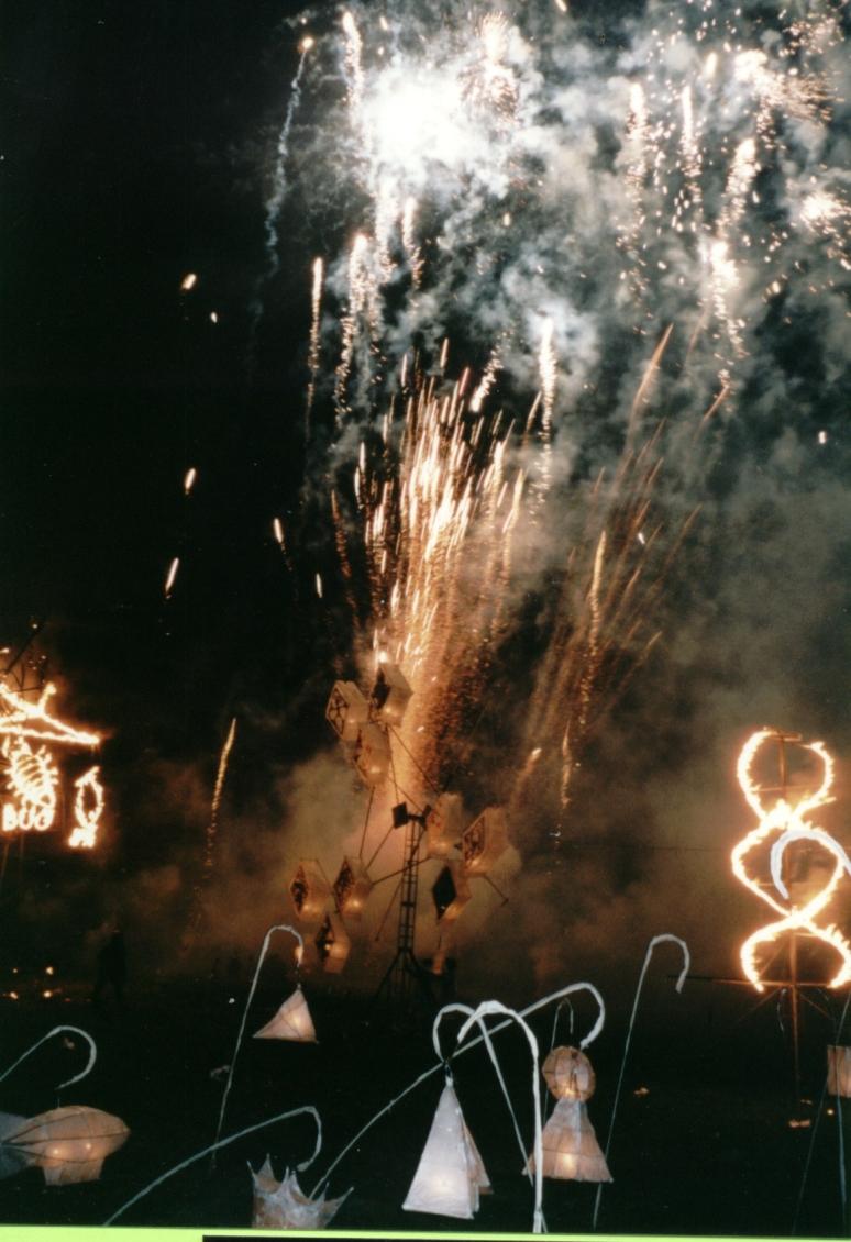 WSI Lantern Finale 2000. artist/ maker